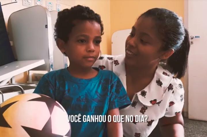Comissão de Humanização do HURSO promove evento para o Dia Mundial da Infância