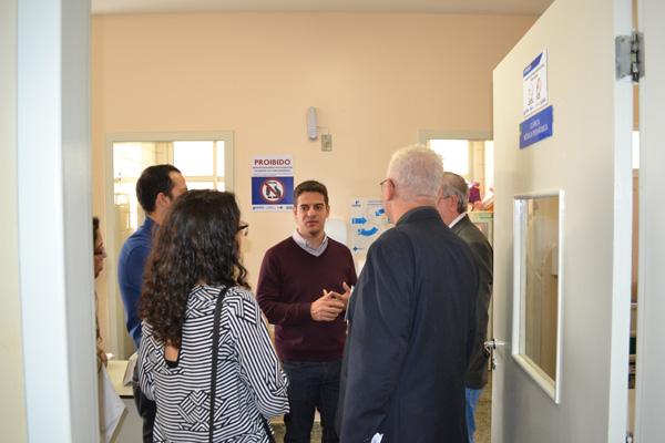 HURSO recebe visita do Secretário da Saúde, Ismael Alexandrino