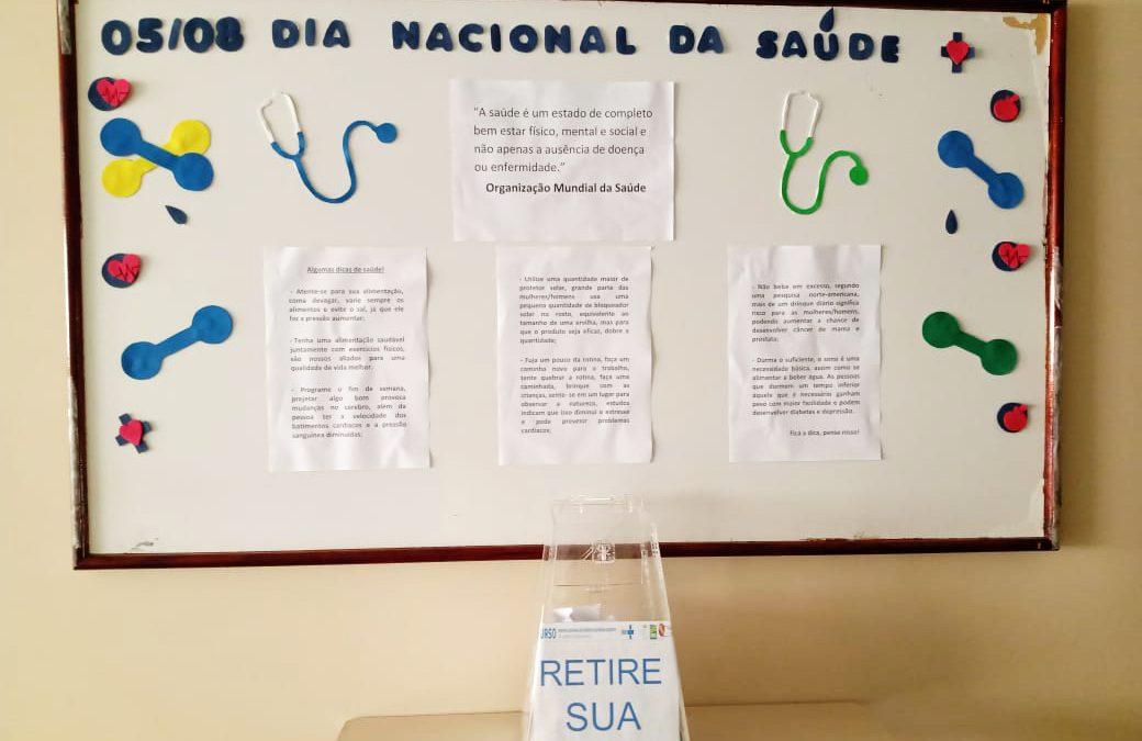 Dia Nacional da Saúde é celebrado no HURSO