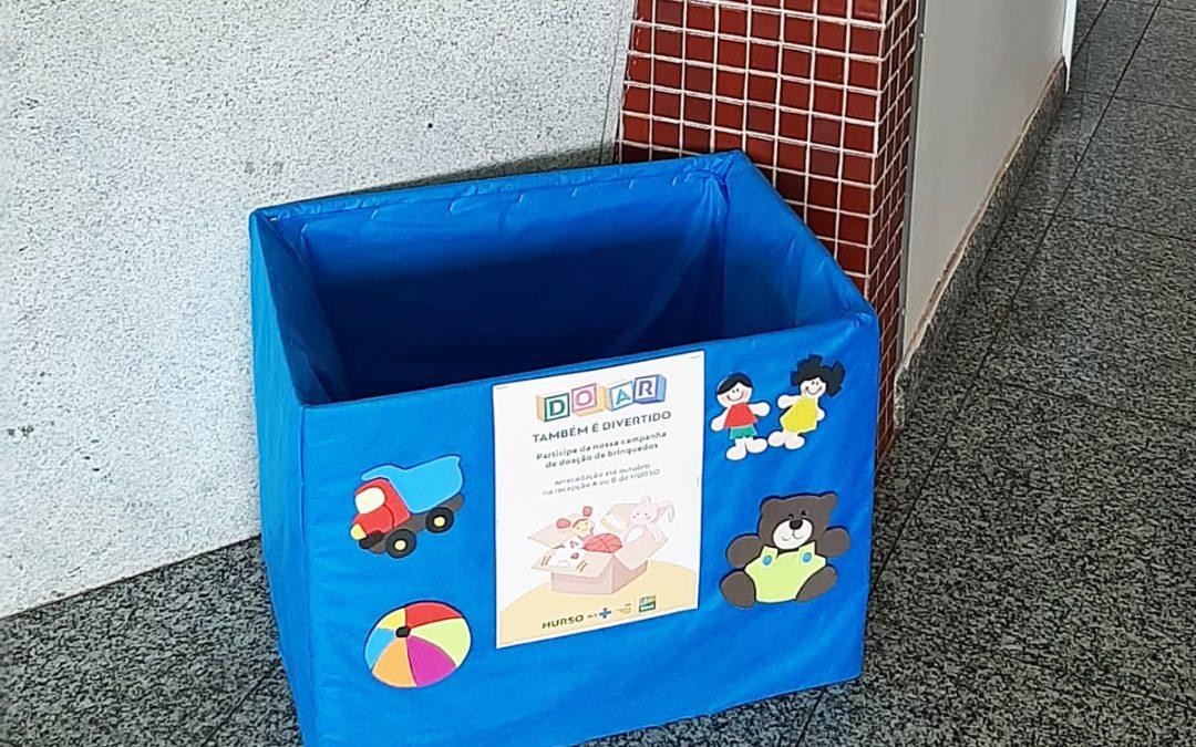 HURSO realiza campanha para arrecadação de brinquedos