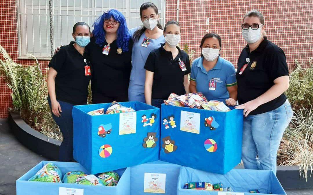 HURSO comemora Dia das Crianças com entrega de brinquedos em creche