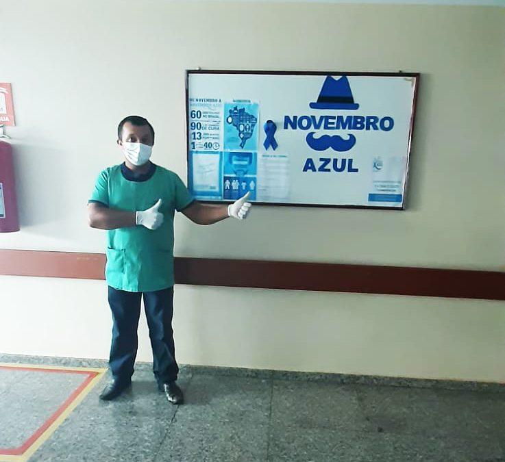 HURSO inicia ações do Novembro Azul com distribuição de informativo