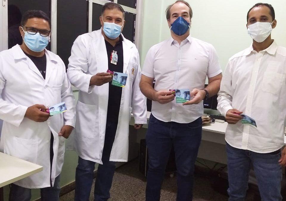 HURSO realiza homenagem pelo Dia dos profissionais das Técnicas Radiológicas